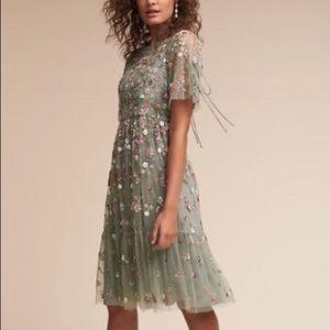 BHLDN needle and thread Bobbi dress